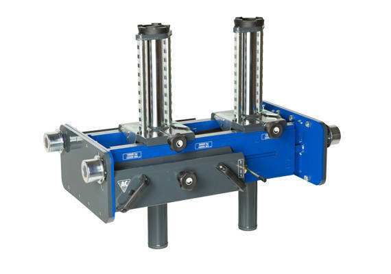 Ямный подъемник пневмогидравлический 10 т, AC Hydraulic, GD100-2M, фото 2