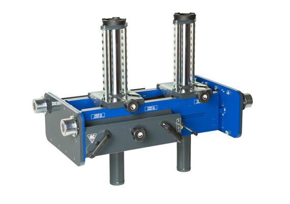 Ямный подъемник пневмогидравлический 10 т, AC Hydraulic, GD100-2M