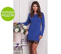 """Платье с кружевом """"Ivona"""". Распродажа модели"""