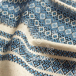 Ткань с украинским орнаментом Рандеву