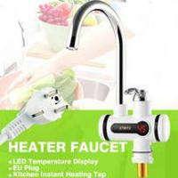 Электрический проточный водонагреватель кран lz 008 с жк дисплеем