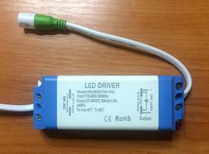 Драйвер для світлодіодів LED 36-40W 750mA IP20 Код. 59229
