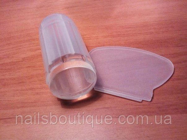 Штамп для стемпинга , силиконовый прозрачный