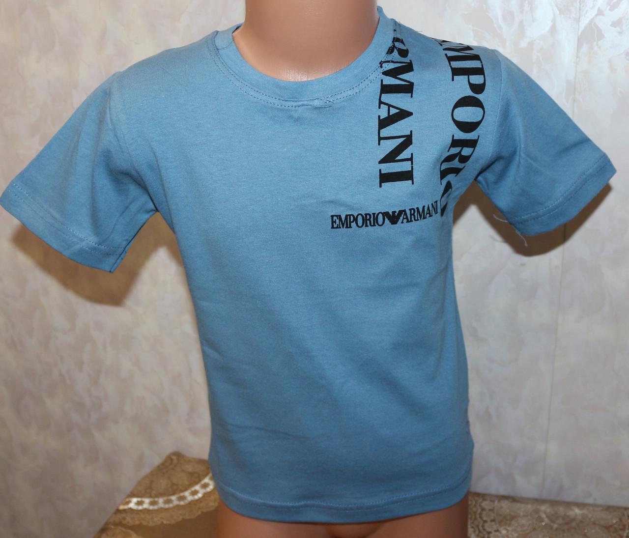 Летняя  футболка на мальчика  116,122,128,134 см  100 % хлопок