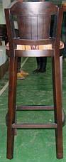 Барный деревяный стул со спинкой Кантри, фото 3