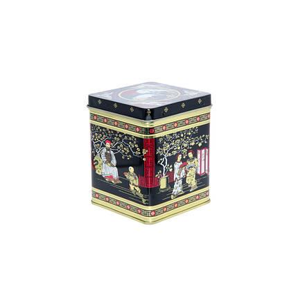 Жестяная банка для кофе и чая Япония, 125г (контейнер для сыпучих ), фото 2
