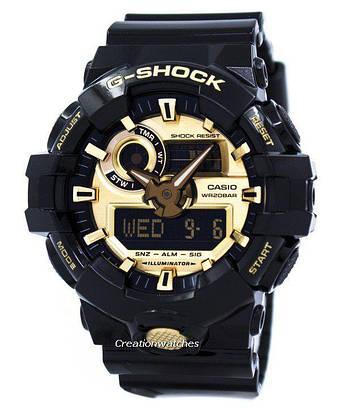 Часы мужские Casio G-Shock GA-710GB-1AER