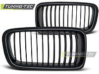 Решетка радиатора ноздри тюнинг BMW E38 черный мат