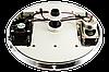 Лейка для душевой кабины, с подсветкой, динамиком и кулером диаметром  250 мм. ( Л-250ДК ) Шток с наружной резьбой., фото 3