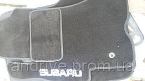 Коврики в салон для Subaru Legacy / Outback ворсовые