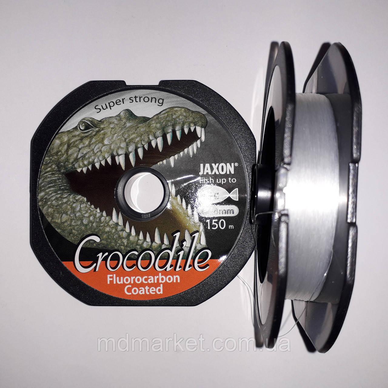 Леска Jaxon Crocodile Fluorocarbon Coated 150m 0.18mm/6kg
