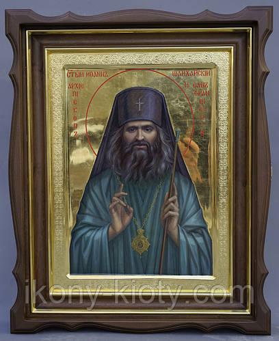 Золочение сусальным золотом икон Святого Иоанна Шанхайского. - фото 5