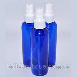 Пляшка зі спреєм синя, 100 мл