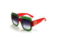 Солнцезащитные очки, женская брендовая оправа