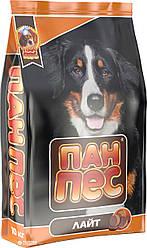 Корм для собак Пан Пес Лайт, 10 кг.