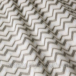 Декоративная ткань мелкий зигзаг