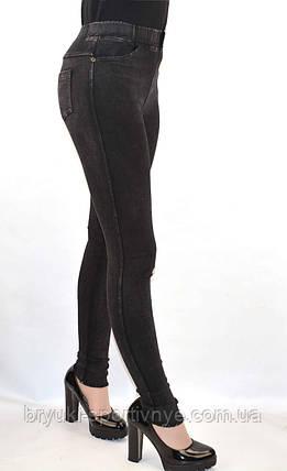 Джинсы женские стрейч - рванные, фото 2