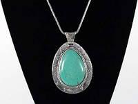 Ожерелье модное с камнем