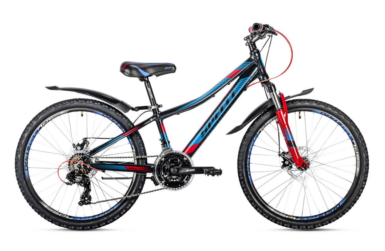 Велосипед 24 Spelli Cross Boy alu