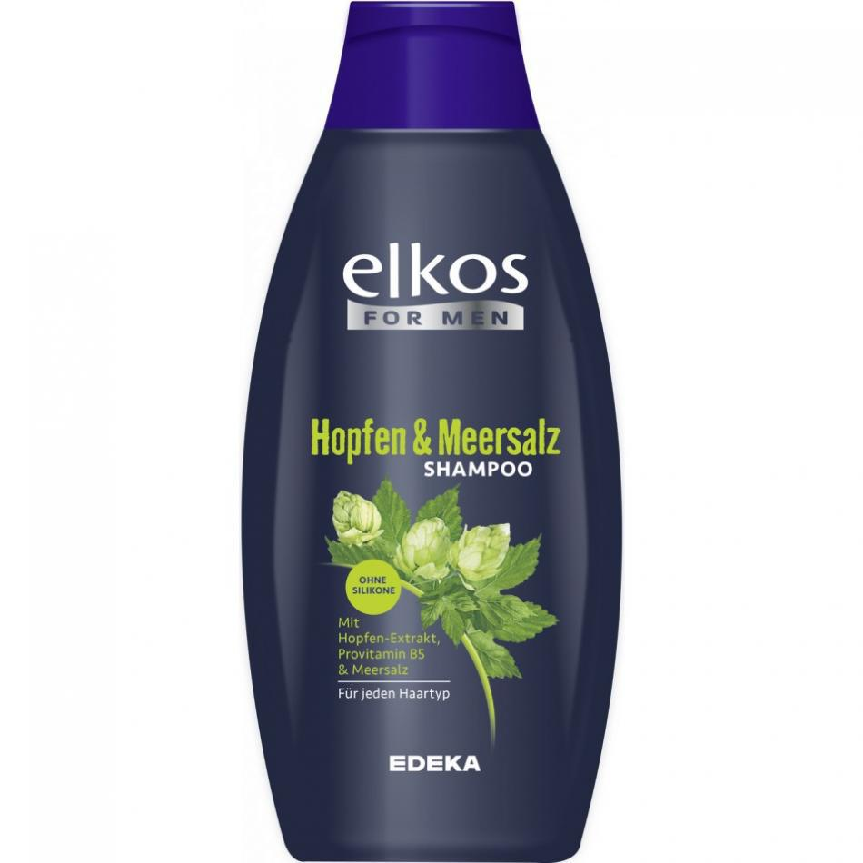 Шампунь Elkos For Men Hopfen & Meersalz 500 мл.