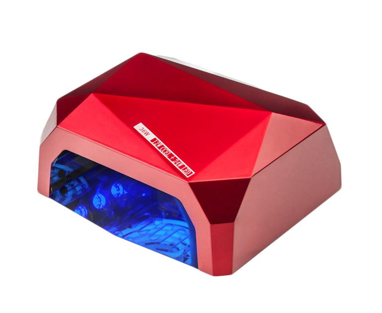 Лампа для гель лака SUN Diamond, 36W Красная