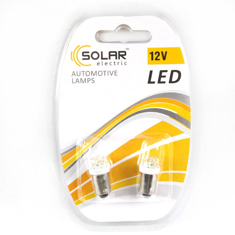 Led 12V T8.5 BA9S 7leds white (2 шт)