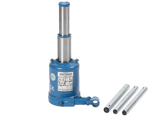 Пляшковий гідравлічний домкрат 10 т, AC Hydraulic, ATG10-200
