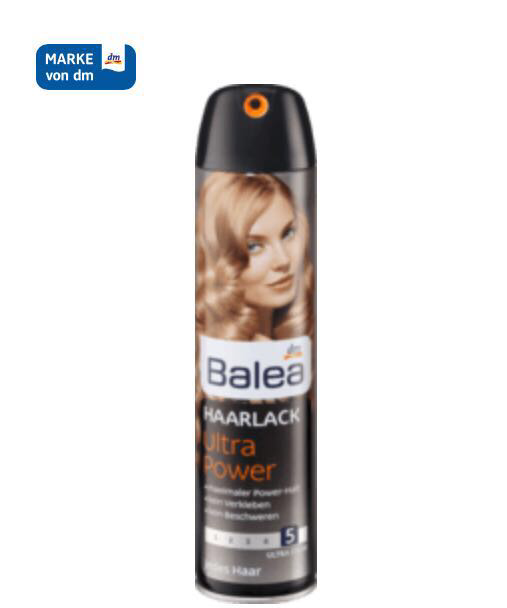 Лак для волос Balea Ultra Power HaarLack 300мл