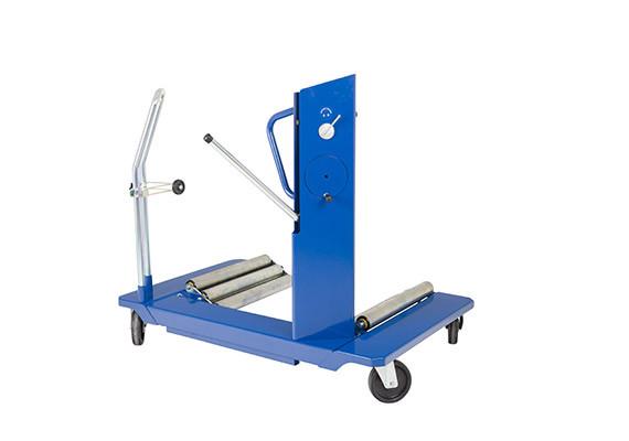 Візок для транспортування коліс сільгосп і будівельної техніки 1500 кг, AC Hydraulic, WT1500NT