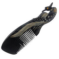 Гребень для волос костяной Уточка