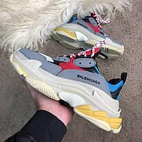 Мужские кроссовки Balenciaga Triple S, Реплика, фото 1