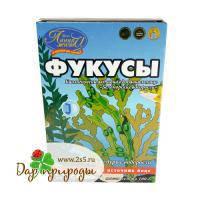 Фукусы-морские бурые водоросли, Инвит, 100г Россия