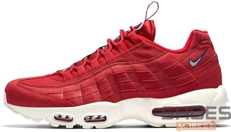 Мужские кроссовки Nike Air Max 95 TT Red, Найк Аир Макс 95