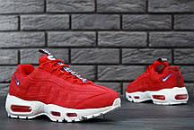 Мужские кроссовки Nike Air Max 95 TT Red, Найк Аир Макс 95, фото 3