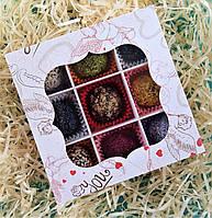 Цукерки з фруктової пастили - Асорті - Святковий набір! - 125гр