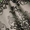 Декоративная ткань вензель коричневый Испания 400168