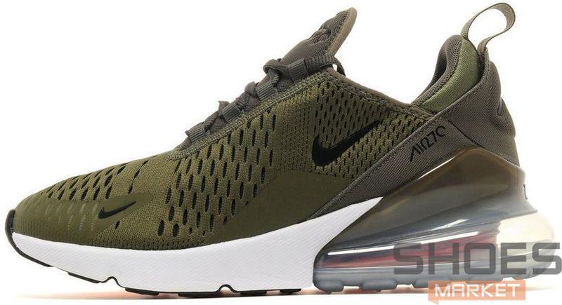 Мужские кроссовки Nike Air Max 270 Olive AH8050-201, Найк Аир Макс 270