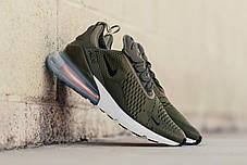 Мужские кроссовки Nike Air Max 270 Olive AH8050-201, Найк Аир Макс 270, фото 3
