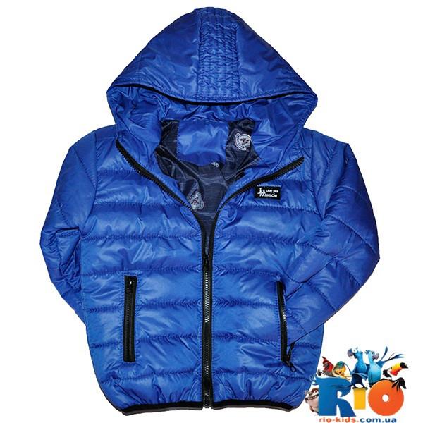 Детская весенняя куртка, болоньевая, для детей ростом 116-140 см (5 ед в уп)
