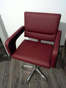 Кресло парикмахерское Фламинго Гидравлика хром