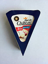 Сыр бри с белой плесенью Roi du Chateau Brie, 125 г.