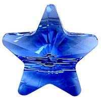 Хрустальные бусины Swarovski Звезда 5714 Sapphire