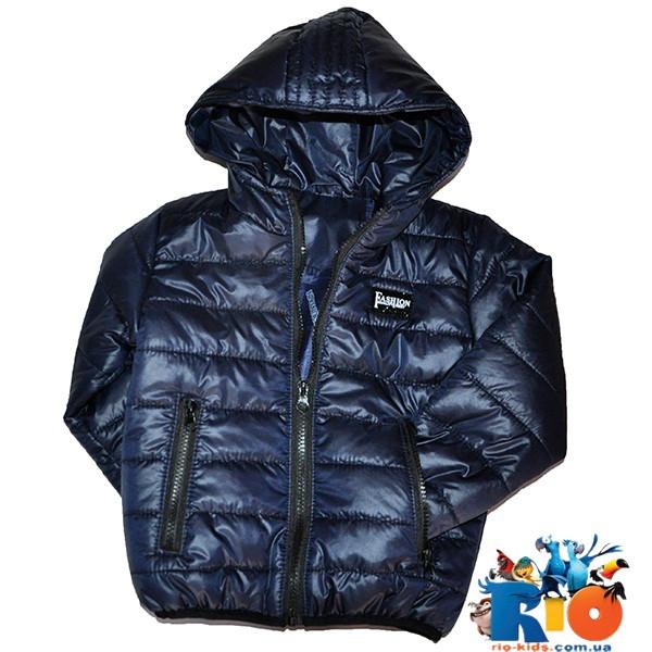 Детская весенняя куртка, болоньевая на синтепоне, для детей ростом 92-116 см (5 ед в уп)