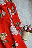 Новое красное платье с воланами и вырезами на спинке Topshop, фото 4