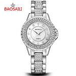Женские часы Baosaili Diamond (Silver)