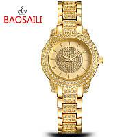 Женские часы Baosaili Shining Stones (Gold)