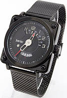 Мужские наручные часы, квадратный циферблат, фото 1