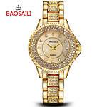 Женские часы Baosaili Diamond (Gold)