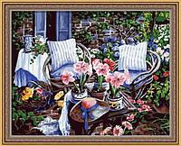 Раскраска по номерам MENGLEI Уютная веранда (MG016) 40 х 50 см, фото 1