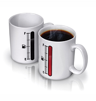 """Оригинальная чашка хамелеон, купить кружку для чая и кофе Youngpig """"TANK UP"""" (408)"""